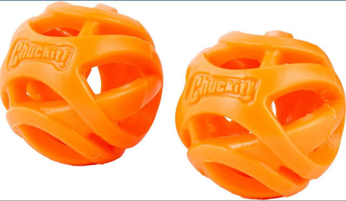 Chuckit! Breathe Right Fetch Ball Dog Toy 2 Pack