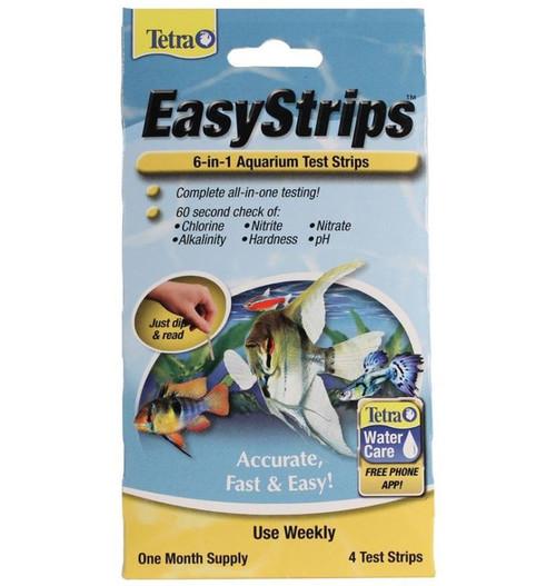 Tetra Easystrips 6 In 1 Aquarium Test Strips