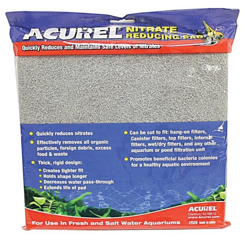 "Acurel Nitrate Reducing Infused Media Pad 10""x18"""