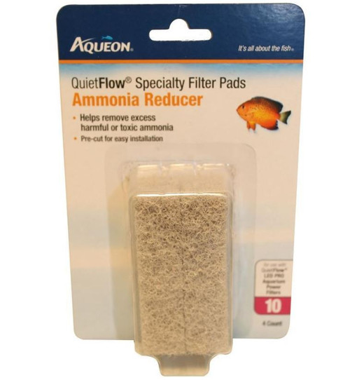 Aqueon Specialty Filter Pads With Ammonia