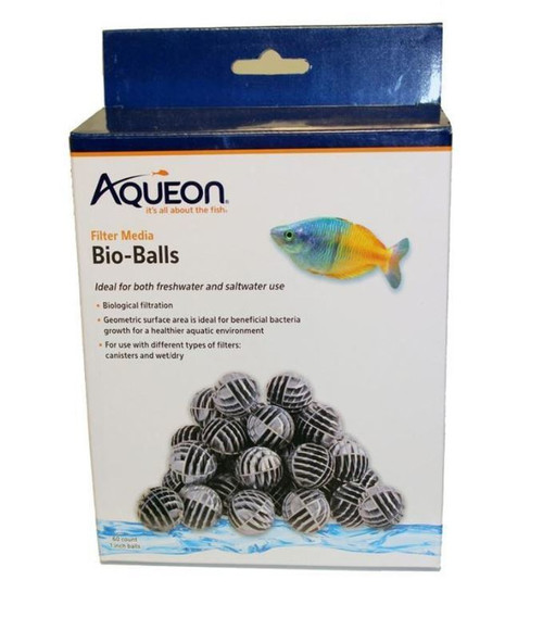 Aqueon QuietFlow Filter Media Bio-Balls 60 Count