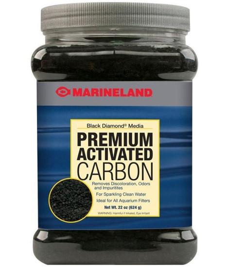 Marineland Black Diamond Activated Carbon Filter Media 22oz Jar