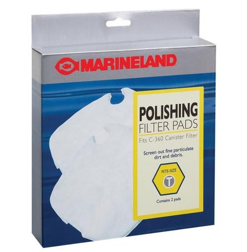 Marineland C-360 Canister Polishing Filter Pads Media 2 Pack