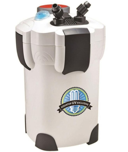 Aquatop 4 Stage CF400 Canister Filter With UV Sterilizer