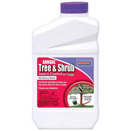 Bonide Annual Tree & Shrub Drench Concentrate, 1 Quart