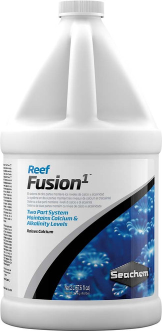 Seachem Reef Fushion 1 Two Part Calcium/Buffer System 2 L/67.6oz