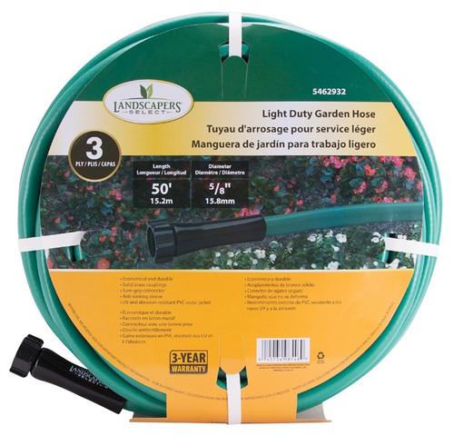 Landscapers Select GH-585023L Garden Hose, 50 ft