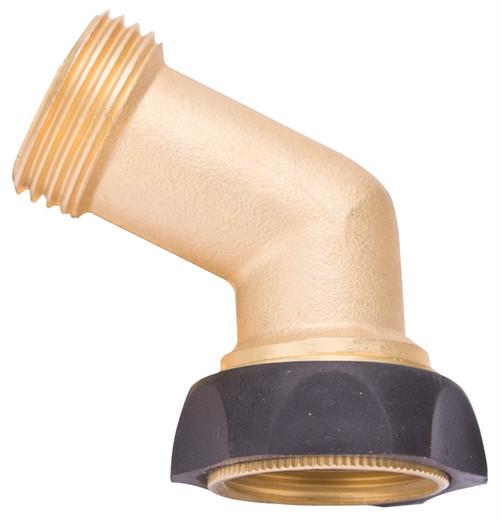 Landscapers Select Brass Swivel Gooseneck Hose Connector