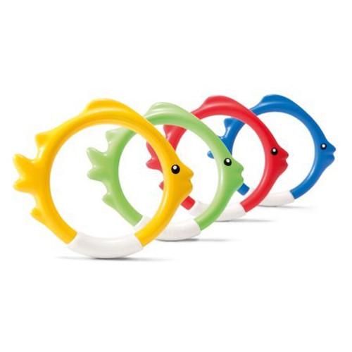 Intex Underwater Fish Rings, 4 Pack