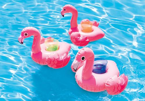 Intex Flamingo Drink Holders, 3 Pack