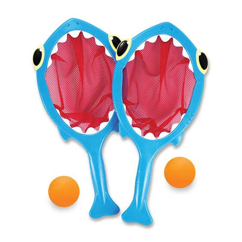 Melissa & Doug Spark Shark Toss & Catch Pool Toy