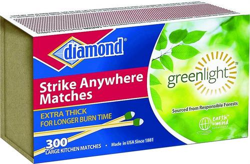 Diamond Strike Anywhere Matches, 300 Count