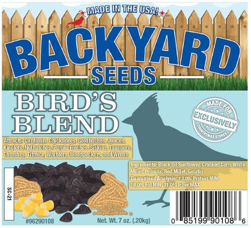 Backyard Seeds Bird's Blend Seed Cake, 7oz