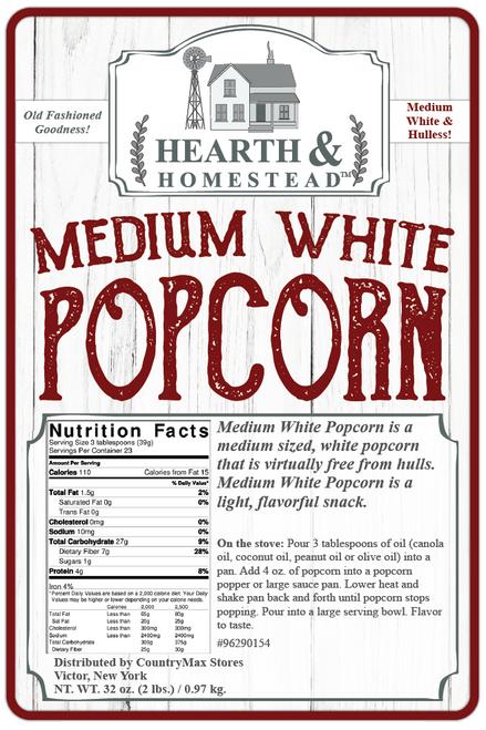 Hearth & Homestead Medium White Popcorn