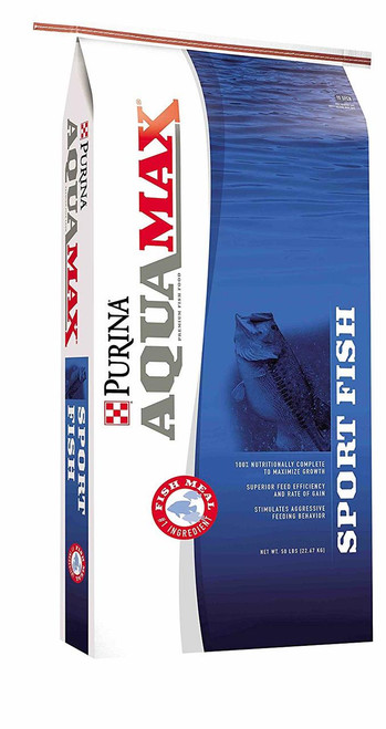 Purina AquaMax Sportfish MVP 43% Diet for Bass, Bluegill, Trout