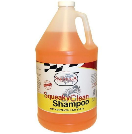 Saratoga Vet Products Squeaky Clean Shampoo, 1 Gallon