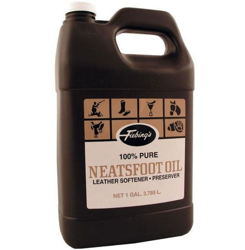 Fiebing's 100% Pure Neatsfoot Oil, 1 Gallon