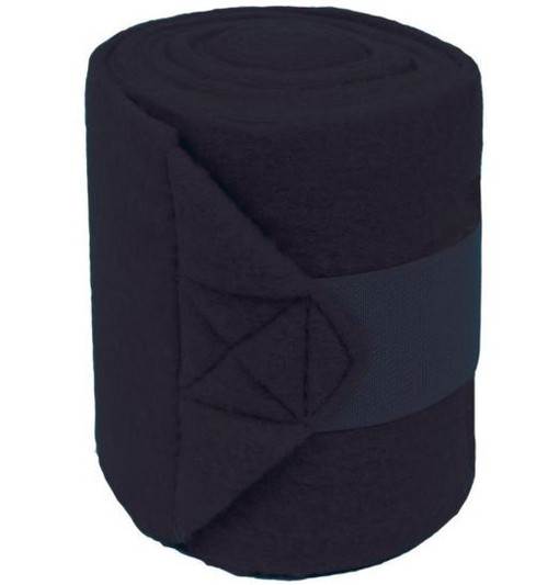 Partrade Polo Fleece Bandages For Horses, 4 Pack