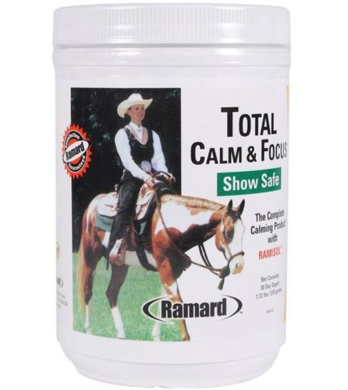 Ramard Total Calm & Focus Show Safe Supplement For Horses, 30 Day