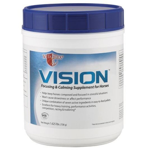 Farnam Vision Focusing & Calming Pellets For Horses, 1.625lb