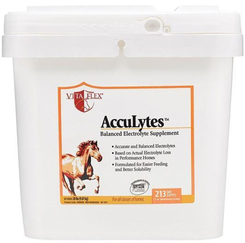 Vita Flex Acculytes Complete Electrolyte Formula For Horses, 20Lbs