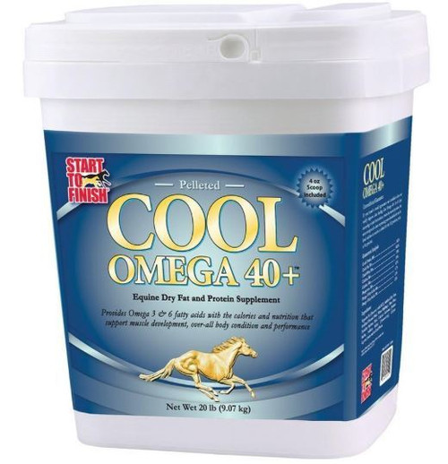 Start To Finish Cool Omega 40+ Horse Supplement, 20 Lbs
