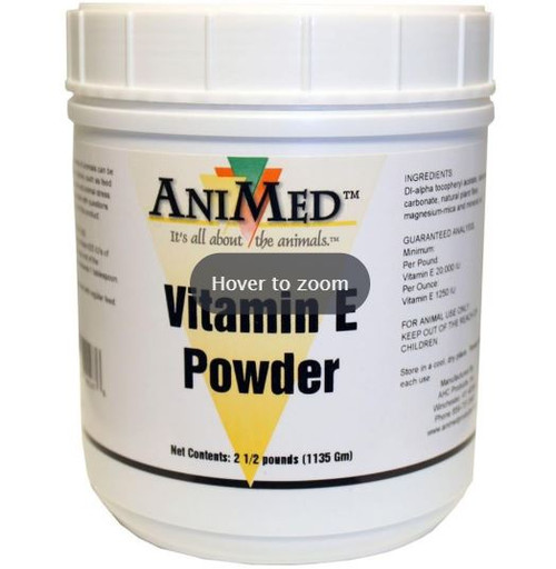 Animed Vitamin E Powder, 2.5Lbs