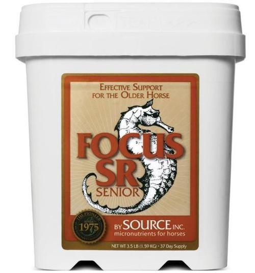 Source Inc Focus SR Micronutrient For Senior Horses, 3.5 Lbs