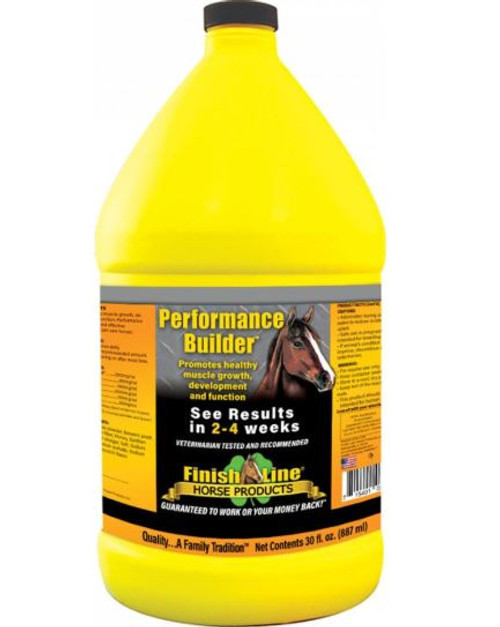 Finish Line Liquid Muscle Performance Builder, 1 Gallon