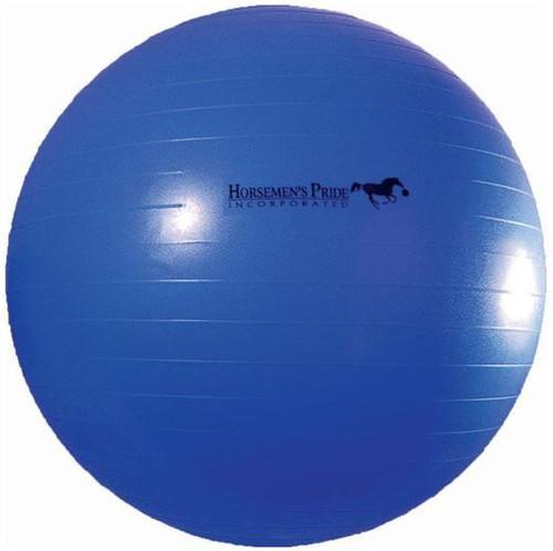 """Horsemen's Pride Jolly Mega Ball For Equine, 30"""" Blue"""