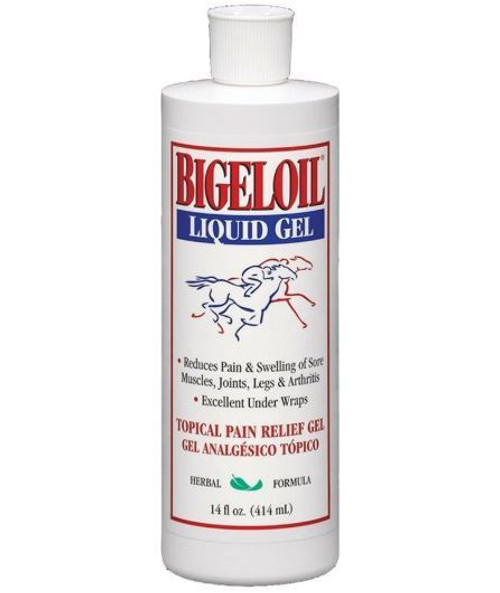 Bigeloil Topical Pain Relief Gel For Horses