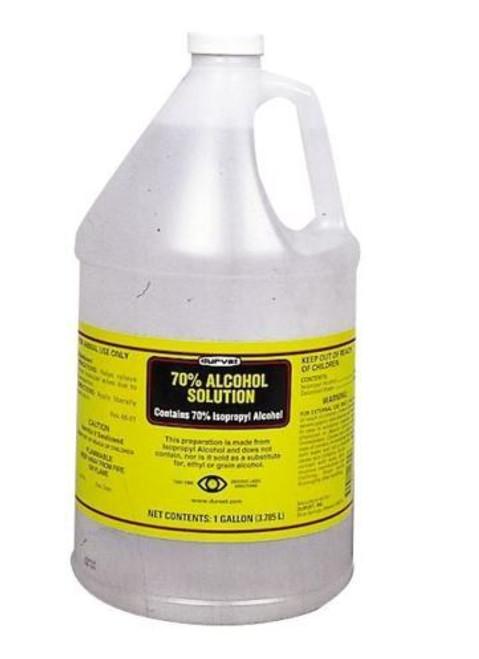 Durvet Isopropyl 70% Alcohol Solution, 1 Gallon