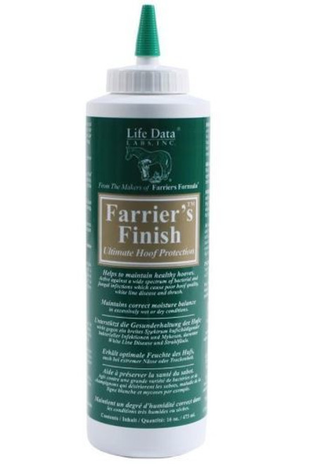 Life Data Farrier's Finish Ultimate Hoof Protection, 16oz
