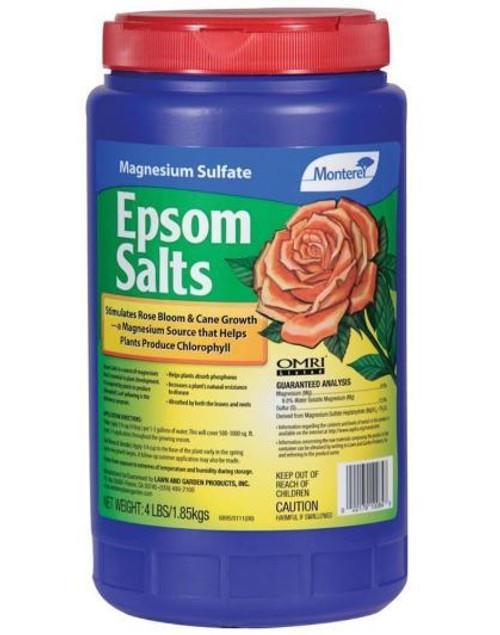 Monterey Epsom Salts, 4 Lbs