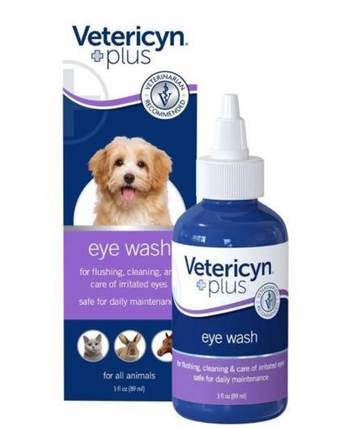 Vetericyn Plus All Animal Eye Wash, 3 oz