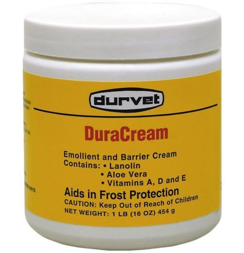 Durvet Duracream Emollient And Barrier Cream, 1 Lb