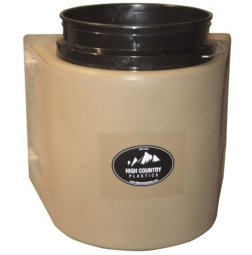 High Country Tan Insulated Bucket 5 Gallons