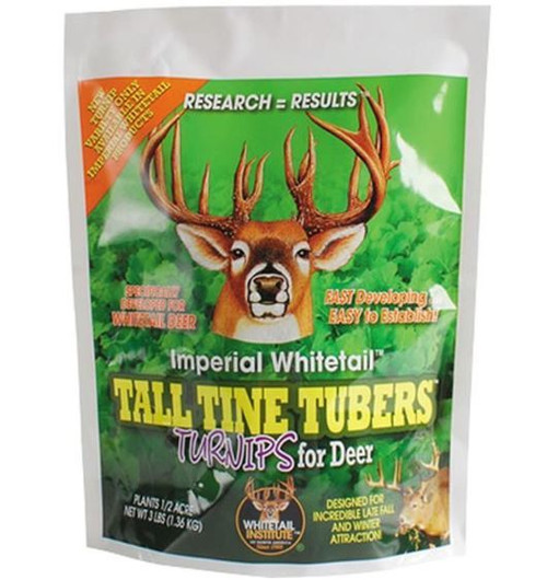 Imperial Whitetail Tall Tine Tubers-Fall Annual, 3 Lbs