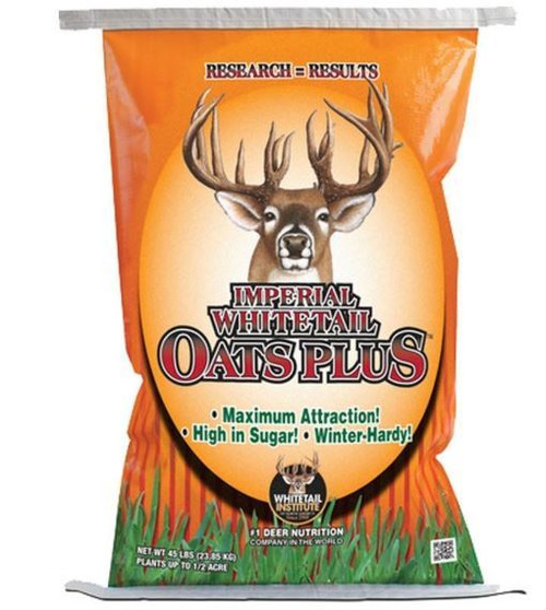 Imperial Whitetail Oats Plus-Fall Annual, 45Lb Bag