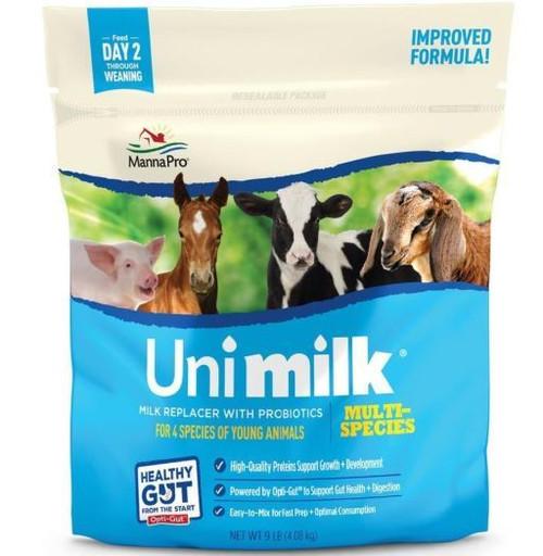 Manna Pro Uni-Milk Instantized Milk Replacer, 3.5 Lb Bag