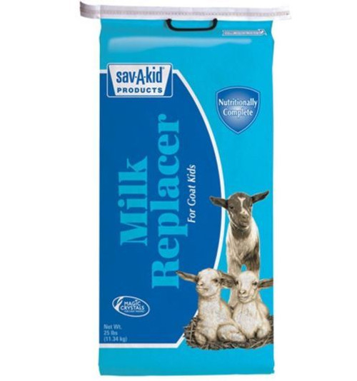 Sav-A-Kid Non-Medicated Milk Replacer, 25 Lb Bag