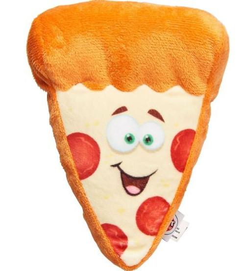 Spot Fun Food Pizza Plush Dog Toy, Medium