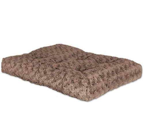 """Midwest Ombre Swirl Bed, 17""""x11"""", Taupe"""
