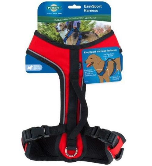 Petsafe Easysport Dog Harness, Red