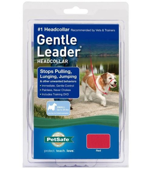 Petsafe Gentle Leader Headcollar, Red