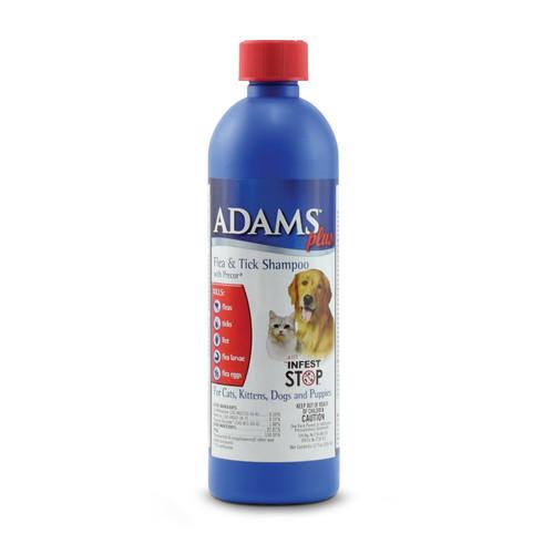 Adams Plus Flea & Tick Shampoo With Precor, 12oz.