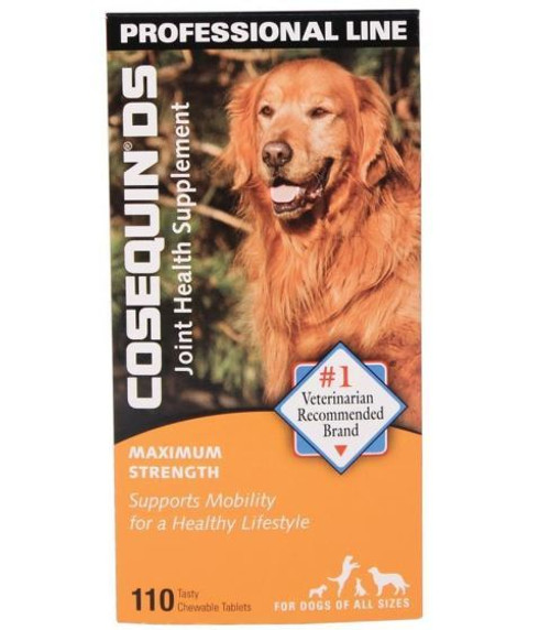 Cosequin DS Dog Max Strength Chewable Tablets, 110 Ct.