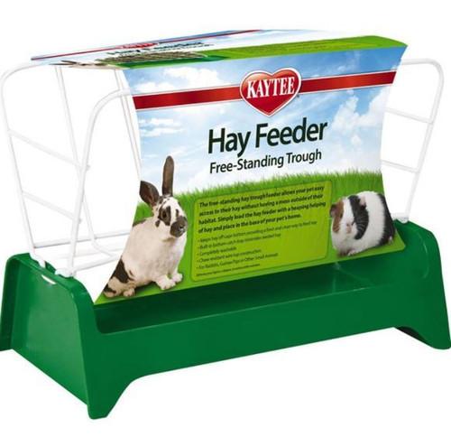 Kaytee Free Stand Trough Hay Feeder