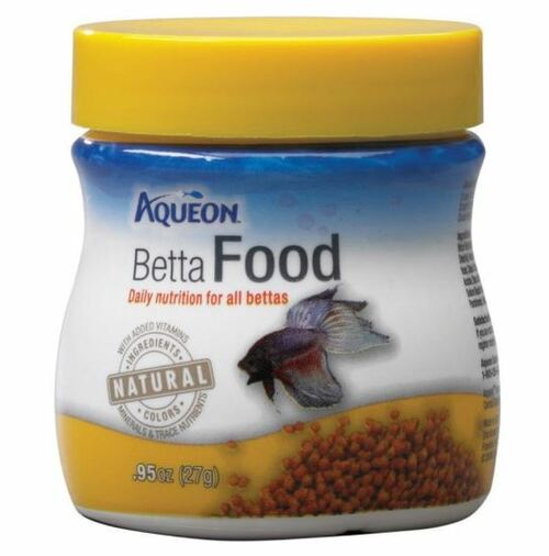 Aqueon Betta Food, .95 oz.