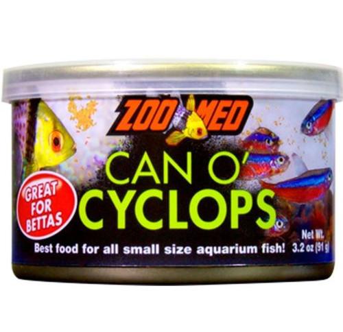 Zoo Med Can O' Cyclops Fish Food, 3.2 oz.